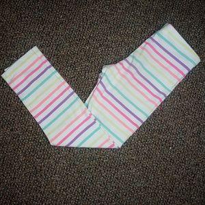 Striped 5t leggings